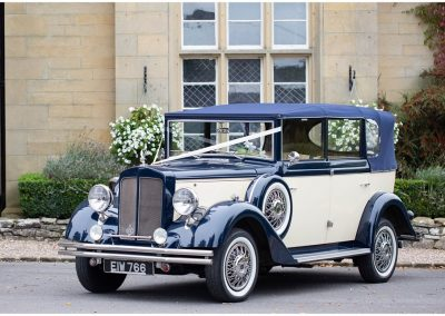 2. Blue and Ivory Regent Convertible